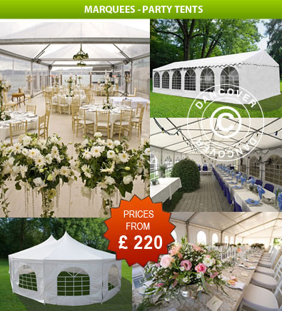 Marquees - Party Tents